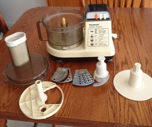 Food Processor with Parts